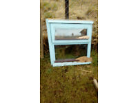 Nice double glazed window with wooden frame.