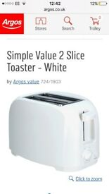 New toaster