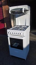 Gas cooker. High level grill. As new