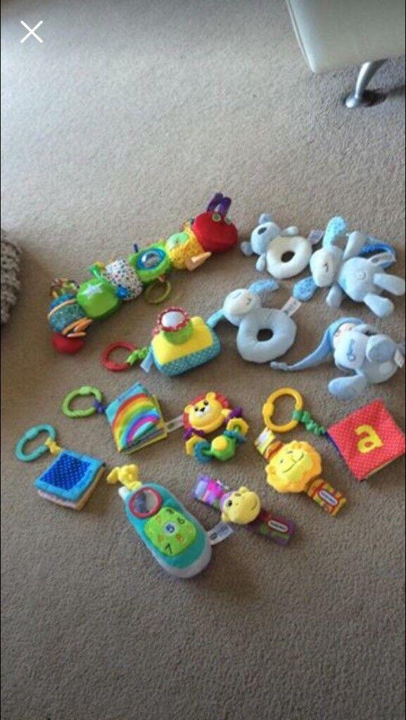 Newborn soft toys