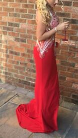 Prom dress size 8 in immaculate condition
