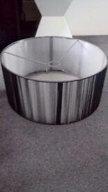 Next Grey lampshade
