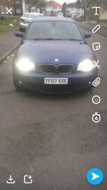 BMW 120D M-SPORT LE-MANS BLUE 6SPEED MANUAL OPEN TO CASH OFFERS PX SWAP REPLICA DSG RAPTORS