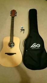 LAG Tramontane acoustic guitar