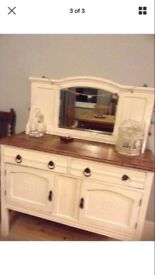Sideboard/cabinet with mirror