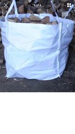 Dumpy of seasoned logs just £50free delivery