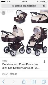 3 in 1 travel system Passo