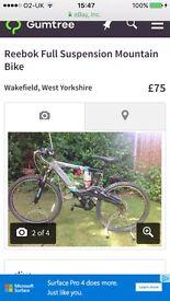 Reebok bike good condition