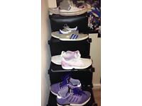 Size 6 trainers nice adidas vans