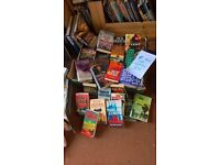 60 FICTION BOOKS ASSORTED GREAT COND. 60 GREAT TITLES ONLY £10 action/ thriller/etc...