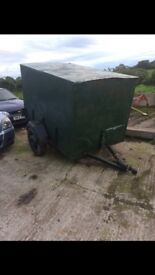 BOX TRAILER FOR SALE WITH LIGHTS AND SPARE WHEEL