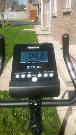 Exercise Bike For Sale Reebok ZR RRP:199 Selling £50 ono