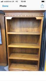 Indonesian hardwood book shelf