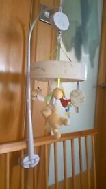 winnie the pooh mobile from mothercare