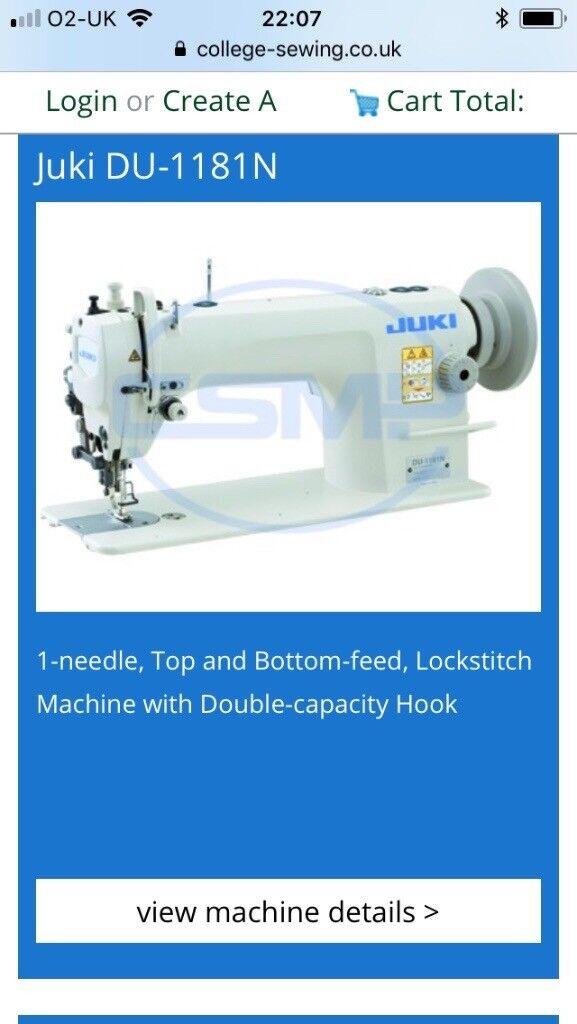 Domestic Industrial Sewing Machines Repairs Servicing Sales Impressive Domestic Industrial Sewing Machine