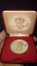 Silver jubilee coin