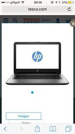HP Notebook 14-ac108na like new condition