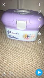 Johnsons skincare essentials box