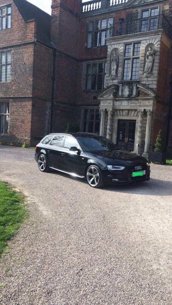 Audi A4 Avant Black Edition Replica 2011