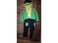 Frankenstein's Monster Halloween Costume (18-24months)
