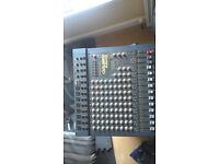 12 Channel, 300 watt + 300 watt Carlsbro mixing desk with fx. Works well. £140 ono