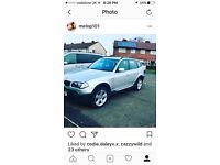 BMW X3. It's the cheapest on the internet. Read advert