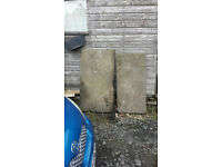 Reclaimed Real Stone Slabs
