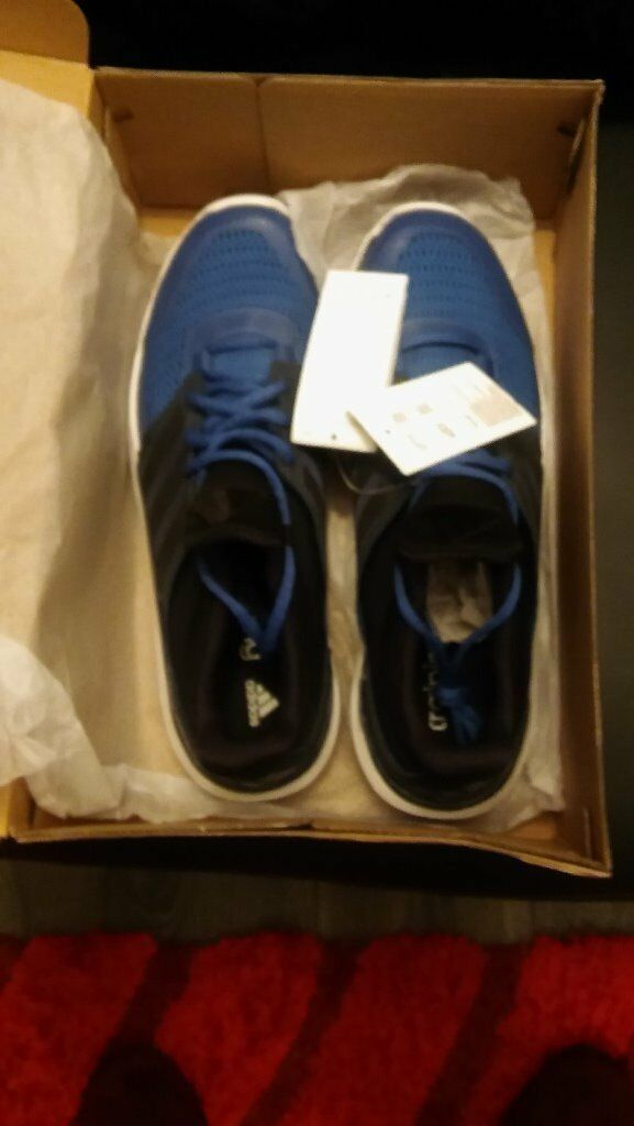 brand new in the box mens adidas adipure 360 3 trainers size 12 blue and black | in Aberdeen | Gumtree