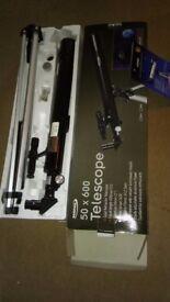 Zennox 50x600 refractor telescope