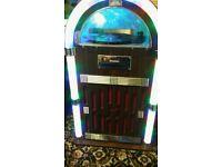 Retro jukebox.