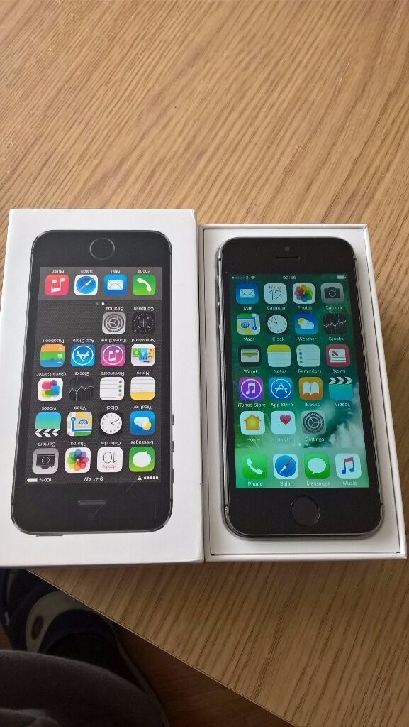 iPhone 5s Black Unlocked excellent conditionin Surrey Quays, LondonGumtree - It is available as long as you can read this add. It will be removed from gumtree instantly after transaction. It comes in the box with charger and lighting cable. There are some tears around the edges and back because of the case Ive been using. The...
