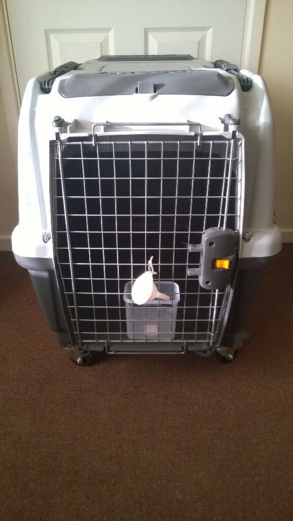 Large Sized Dog Cat Rabbit Pet Carrier On Wheels In Ely