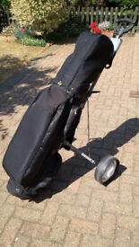 Golf Clubs, Bag & Cart