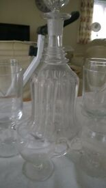 Bell shaped decanter