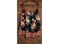 Floral skirt size 16