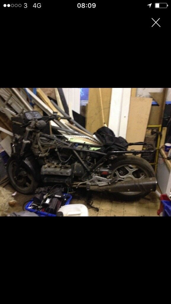 Bmw k100 rtic for restoration