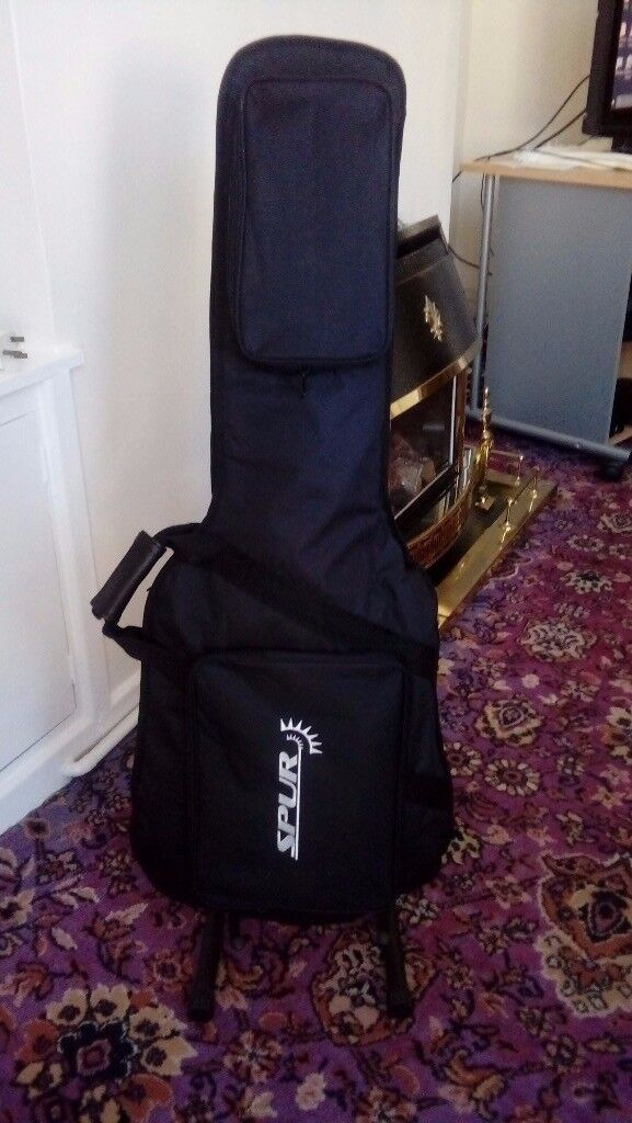 epiphone /gibson / les paul model Guitar With A Soft Case. See Photos