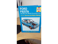 HAYNES MANUAL FOR FORD FIESTA 1983 TO 1989