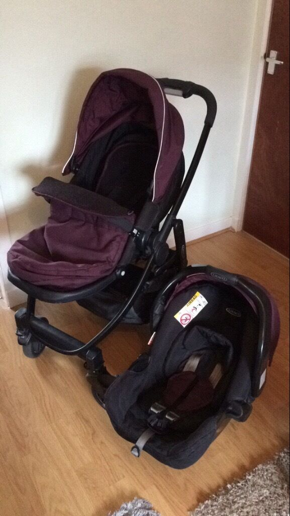 GRACO EVO Pushchair with car seat