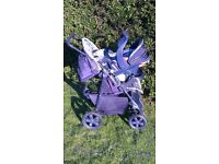 Graco Pram / Stroller and car seat