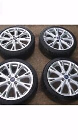 ford fiesta s wheels brand new