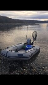 Sea go inflatable keel amd air deck with 2016 mariner 6hp fourstroke