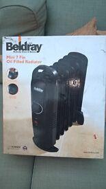 Beldray - 700watt oil filled radiator - boxed and unused
