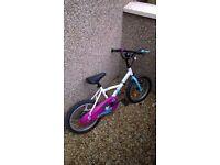 "B'Twin Liloo (Decathlon) kids bike age 4-6 16"""