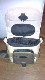Orkio branded camera bag with shoulder strap