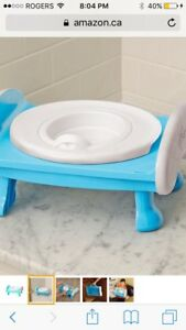 New Safety 1st Deluxe Gotta Go Now Travel Potty Trainer