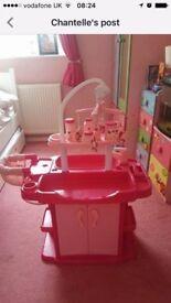 Children's baby unit