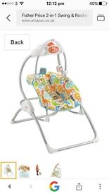 Fisher price swing *would like gone asap*