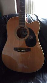 1996 Vintage brand electro acoustic Guitar