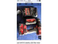 Drill Mac Tools - like new
